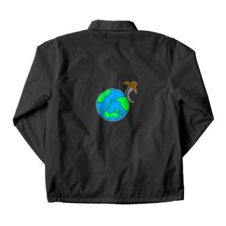 世界平和 Coach Jacket