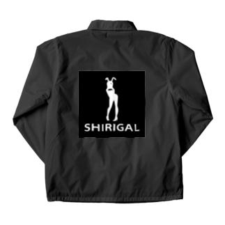 SHIRIGAL(黒ボックスロゴシリーズ) Coach Jacket