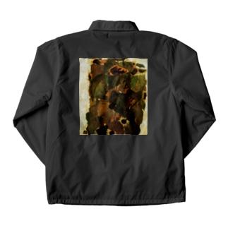 エゴンシーレ ひまわり 1911 アート系 Coach Jacket