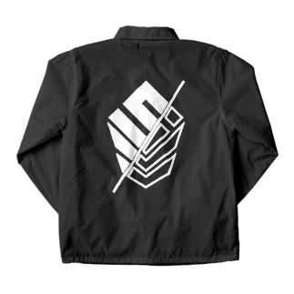 SLP/ 【ホワイトロゴ両面印刷】 Coach Jacket