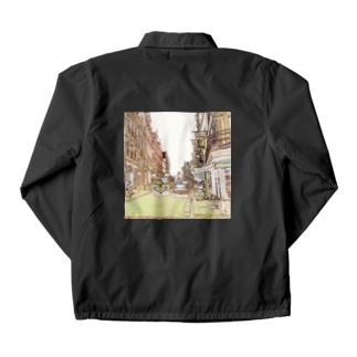 CG絵画:ブリュージュの風景 CG art: Bruges Coach Jacket