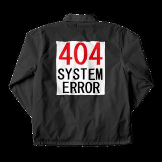 アメリカンベースのシステムエラー 404 Coach Jacket