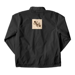 ヤモリ(geko) Coach Jacket