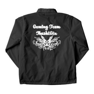 いぶし銀コーチジャケット Coach Jacket