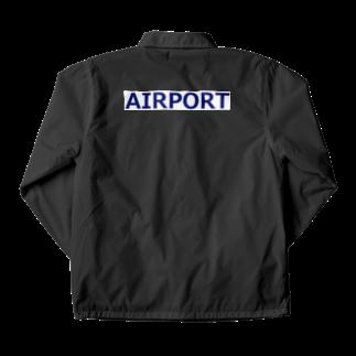 アメリカンベースのエアライングッズ AIRPORT Coach Jacket