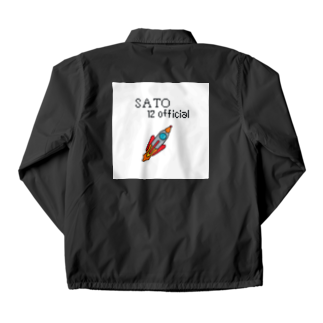 SATO12officialの宇宙船ガウガウ号 Coach Jacket
