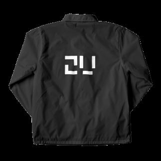 梅雨.2Uの2Uワンポイント 白文字 Coach Jacket