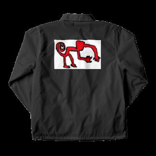 アメリカンベースのナスカのサル Coach Jacket