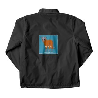 例の服のイタグレ Coach Jacket