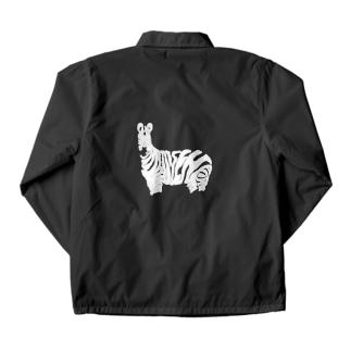 Local zebra ジャケット Coach Jacket