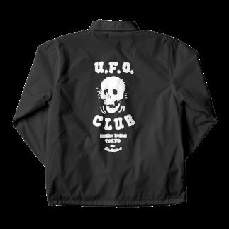 東高円寺U.F.O.CLUB webshopのRockin'Jelly Bean x U.F.O.CLUB オリジナルコーチジャケット Coach Jacketの裏面