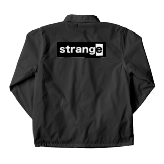 strange world's end strange02コーチジャケット淡色/濃色 Coach Jacket