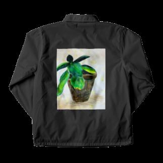 Tommy01の希望の光を浴びてる植物 Coach Jacket