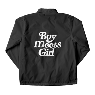 SeanのBoy meets girl black Coach Jacket