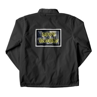 コーチジャケット  KEEP ON GOING Coach Jacket