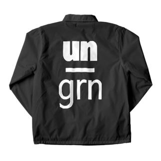 under_ground【前】/un_grn【背】: CJ Coach Jacket