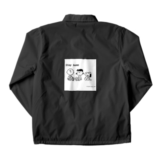 Stay home SNOOPY Coach Jacket