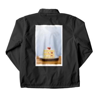 サンショク.のケーキ! [タテ] Coach Jacketの裏面