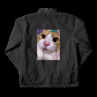 昭和~平成~令和系のりさぴん@の保護猫 セサミくん Coach Jacket