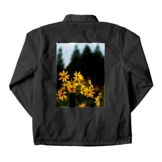 菊芋と樹木 DATA_P_139 tree Coach Jacket