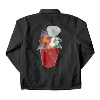 玄関の花 Coach Jacket