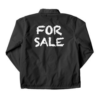 FOR SALE(販売する)白 Coach Jacket