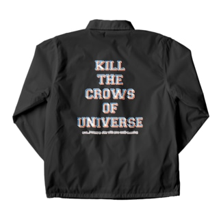 KILL the CROWS of UNIVERSE Coach Jacket