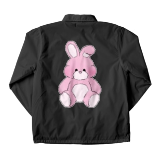 manmonjijiのpinkie rabbit Coach Jacket