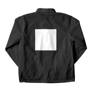 白い四角 Coach JKT Coach Jacket
