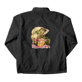 三重県産岩牡蠣1個650円 Coach Jacket