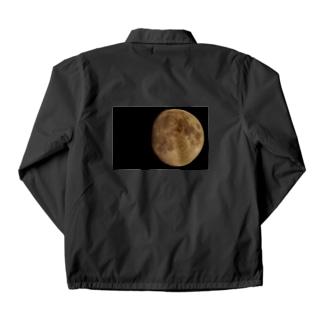 月のオモテ Coach Jacket