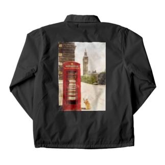 コーギー in LONDON Coach Jacket