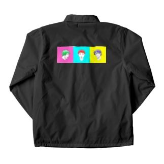 colorful Coach Jacket