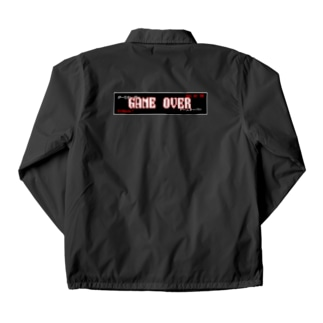GAME OVER Coach Jacket