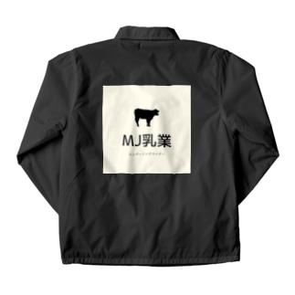 マーフィー乳業 Coach Jacket