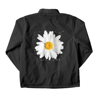 daisy flower Coach Jacket