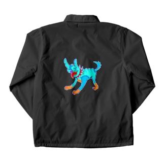 メロイック犬 Coach Jacket