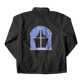 透明な窓 Coach Jacket