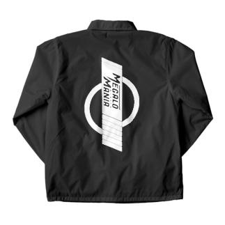 斬る'em ALLの【KJデザイン】MEGALO MANIA-002-WH #MGLMNA Coach Jacketの裏面