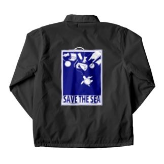 SAVE THE SEA Coach Jacket