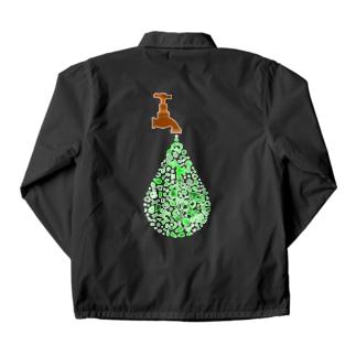エコ 廃棄物 Coach Jacket
