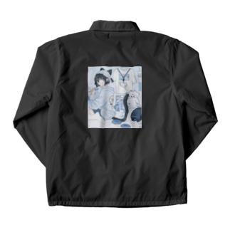 BLUEの音猫ちゃんPart2 Coach Jacket