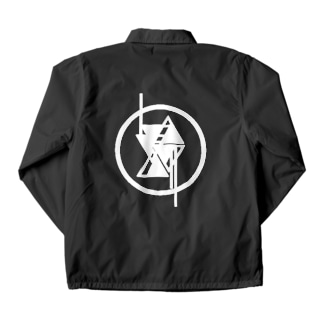 Egyptian Triangle ロゴバックプリント Coach Jacket