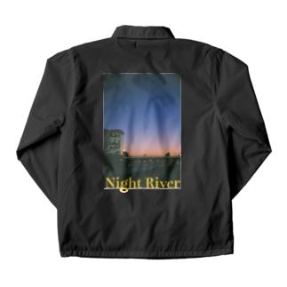 Night Riverシリーズ Coach Jacket