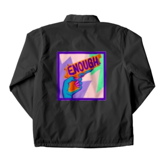 ENOUGH IS ENOUGH!!! ANTI GUN VIOLENCE Coach Jacket