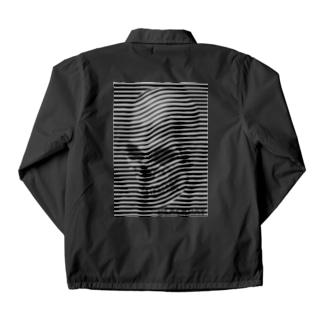 black ray skull coach jacket Coach Jacket