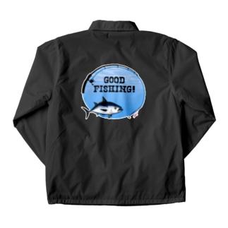 クロマグロ_1_C Coach Jacket