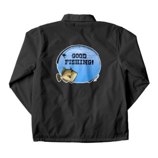 カワハギ_1_C Coach Jacket