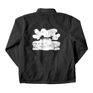 cadillac smoke Coach Jacket