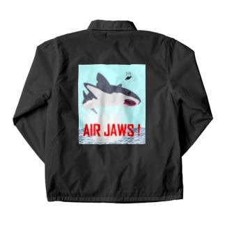 AIR JAWS! ごー!はー!…ん? Coach Jacket